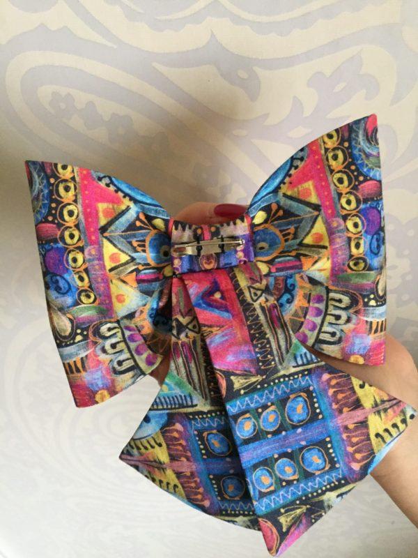 Mašle pastelový motýl